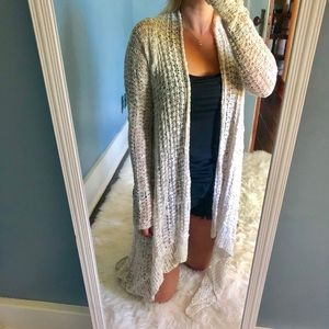 Hollister Hi-Low Cardigan